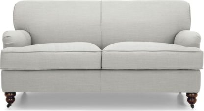 An Image of Orson 2 Seater Sofa, Chic Grey
