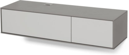 An Image of Stretto Wall Mounted Media Unit, Grey
