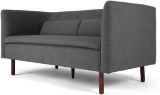 An Image of Henderson 2 Seater Sofa, Marl Grey
