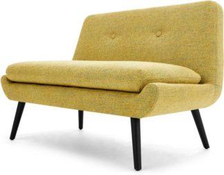 An Image of Jonny 2 Seater Sofa, Revival Yellow