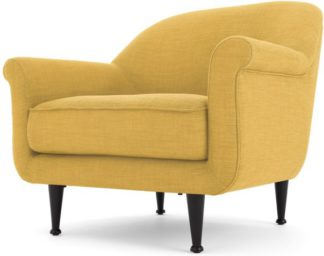 An Image of Jaina Armchair, Mikado Yellow