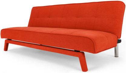 An Image of Yoko Click Clack Sofa Bed, Atomic Orange