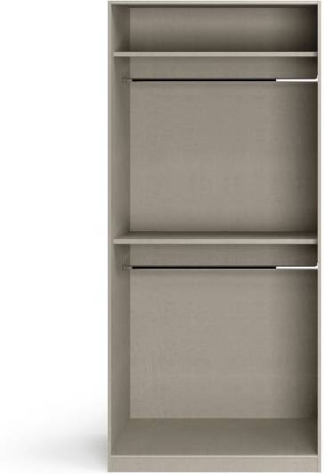 An Image of Caren 2 door Hinged Wardrobe Classic Accessory Package