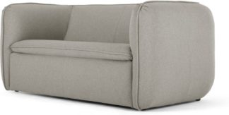 An Image of Berko 2 Seater Sofa, Manhattan Grey