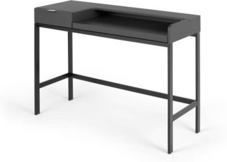 An Image of Marcell Compact Desk, Grey