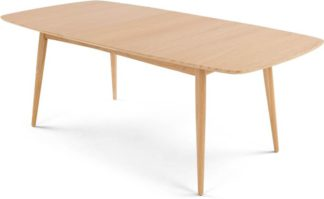 An Image of Deauville 6-8 Seat Extending Dining Table, Oak