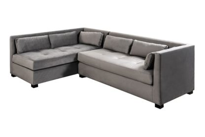 An Image of Berkley Left Hand Corner Sofa - Dove Grey
