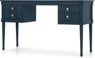 An Image of Bourbon Vintage Desk, Dark blue