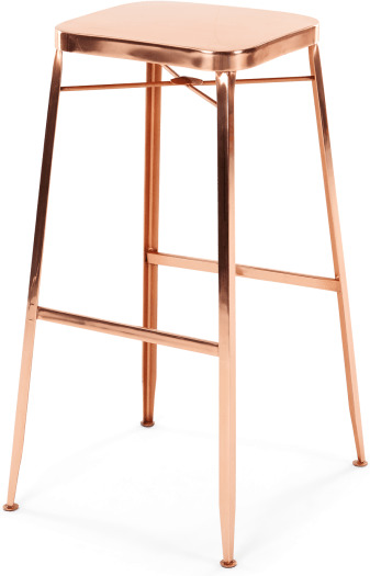 An Image of Bronco Barstool, Copper