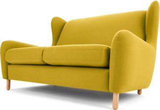 An Image of Rubens 2 Seater Sofa, Light Moss Green