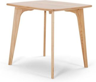 An Image of Fjord 4 Seat Square Compact Dining Table, Oak