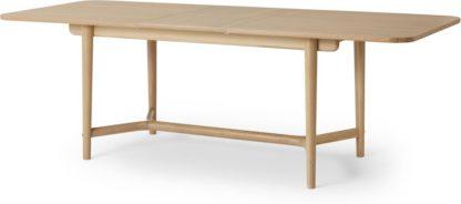 An Image of Gideon Shaker 8-10 Seat Extending Dining Table, Oak