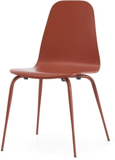 An Image of Juvia Dining Chair, Cayenne