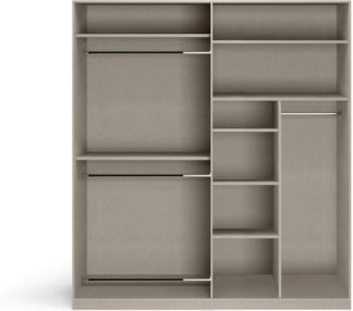 An Image of Caren 4 door Hinged Wardrobe Classic Accessory Package