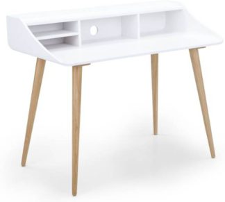 An Image of Esme Desk, White and Ash