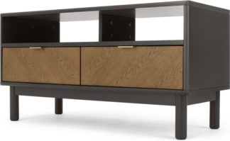 An Image of Belgrave TV Stand, Dark Stained Oak