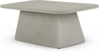 An Image of Kalaw Garden Coffee Table, Grey Concrete