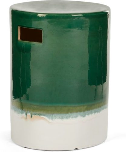 An Image of Sacha Decorative Stool, Green