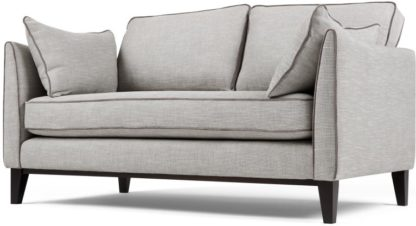 An Image of Content by Terence Conran Keston 2 Seater Sofa, Luna Silver