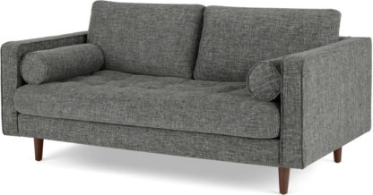 An Image of Scott Large 2 Seater Sofa, Iron Weave