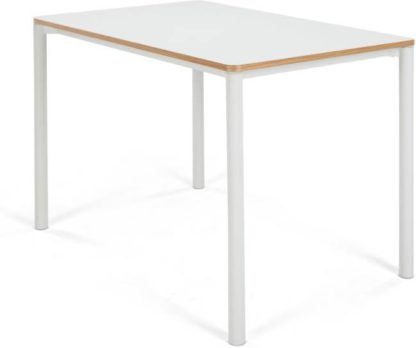 An Image of MADE Essentials Mino 4 Seat Dining Table, White