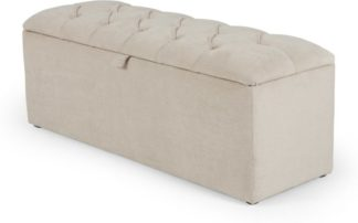 An Image of Orkney Storage Ottoman, Tulip Cream