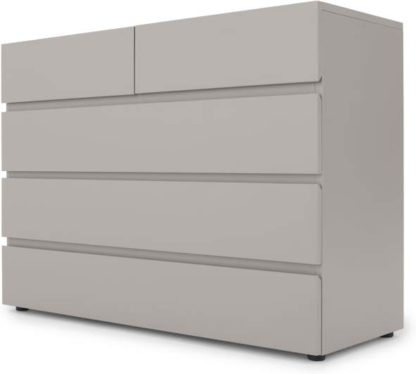 An Image of Senisa Chest Of Drawers, Grey