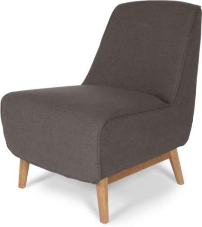 An Image of Leo Accent Chair, Marl Grey