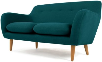 An Image of Dylan 2 Seater Sofa, Mineral Blue