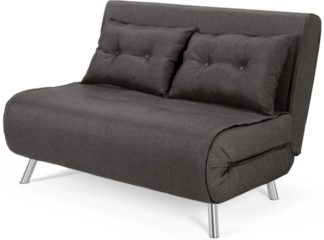 An Image of Haru Small Sofa Bed, Cygnet Grey