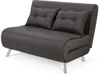An Image of Haru Small Sofa Bed, Cygnet Grey