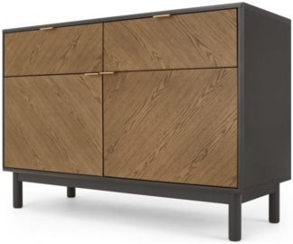 An Image of Belgrave Sideboard, Dark Stained Oak