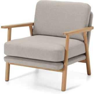 An Image of Lars Accent Armchair, Salcombe Beige