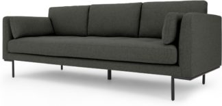 An Image of Harlow 3 Seater Sofa, Hudson Grey
