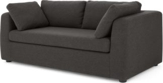 An Image of Mogen 3 Seat Sofa Bed, Oyster Grey