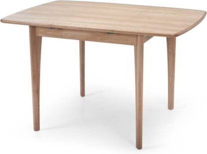 An Image of Monty 2-4 Seat Extending Dining Table, Oak