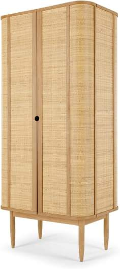An Image of Liana Woven Cabinet, Ash and Rattan