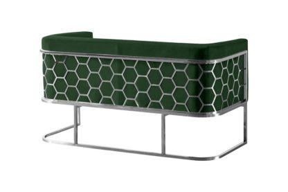 An Image of Alveare Two Seat Sofa - Green