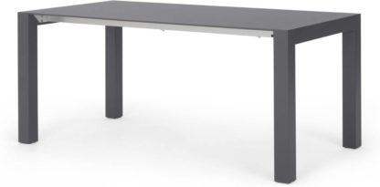 An Image of Bramante 8-12 Seat Extending Dining Table, Matt Grey
