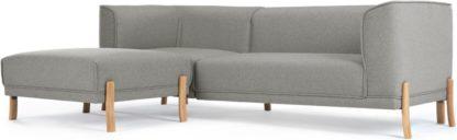 An Image of Magnus Left Hand Facing Corner Sofa Group, Mountain Grey