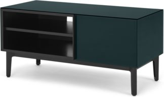 An Image of Silas Media Unit, Teal Glass
