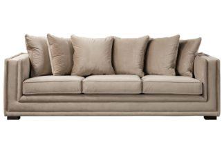 An Image of Holburn Three Seat Sofa - Taupe