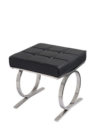An Image of Aurelia Stool - Black