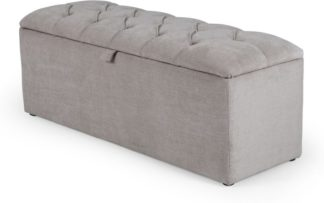 An Image of Orkney Storage Ottoman, Owl Grey