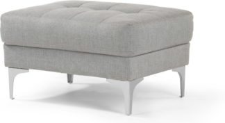 An Image of Vittorio Ottoman, Pearl Grey