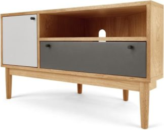 An Image of Campton Corner TV Stand, Oak