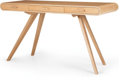 An Image of Fonteyn Console Desk, Oak