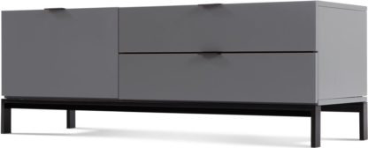 An Image of Marcell Compact Media Unit, Grey