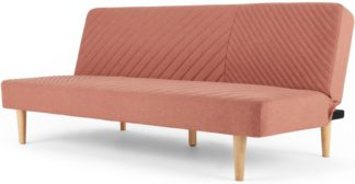 An Image of Ryson Click Clack Sofa Bed, Dusk Pink
