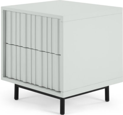An Image of Sheer Bedside Table, Grey